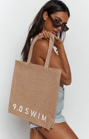 9.0 Swim Keppel Beach Bag White (FREE Over $180)