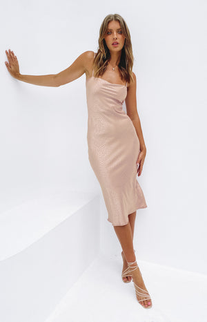 Amaryllis Dress Dusty Pink