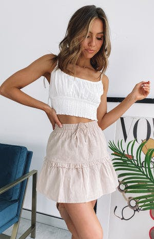 https://files.beginningboutique.com.au/Bad+Together+Skirt+Beige.mp4