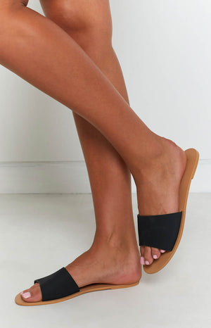 Billini Crete Sandals Black Nubuck
