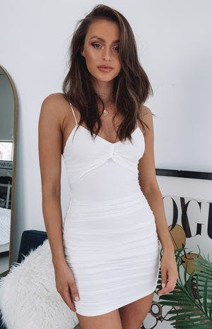 https://files.beginningboutique.com.au/Burning+Desire+Ruched+Mini+Party+Dress+White.mp4