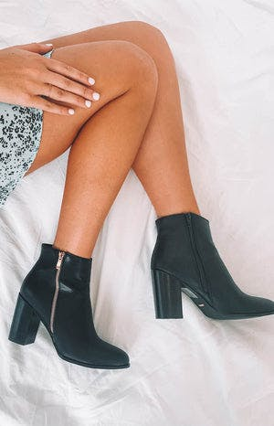 Billini Charli Boots Black Tumble