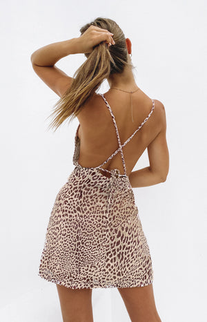Dannii Leopard Dress