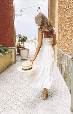 Devon Maxi Dress White