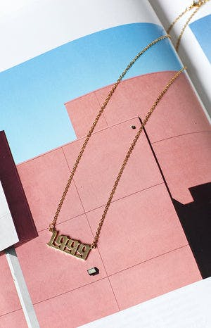 Eclat 1999 Necklace Gold