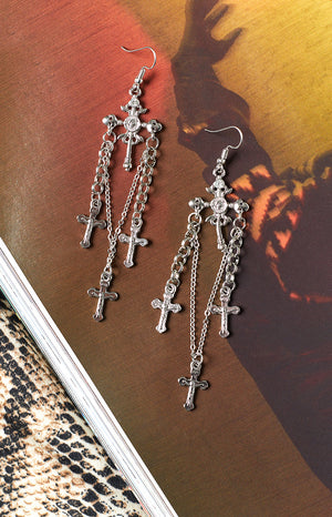 Eclat Adah Earrings Silver