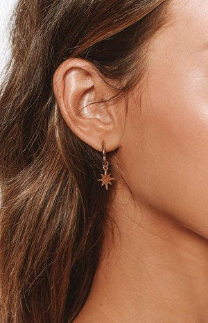 Eclat Rigel Earrings Gold (FREE Over $150)