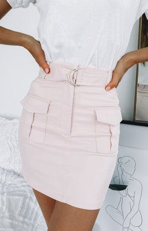 Flamingo Skirt Pink