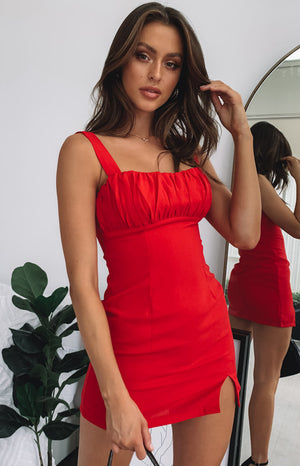 https://files.beginningboutique.com.au/Irma+Ruched+Dress+Red.mp4