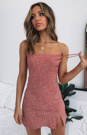 Jordyn Dress Blush Print