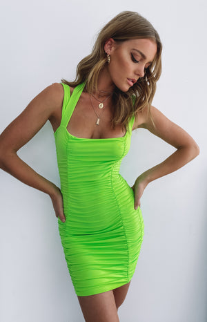 https://files.beginningboutique.com.au/Line+Em+Up+Ruched+Party+Dress+Neon+Green.mp4