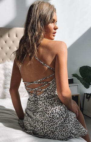 Love Lives Dress Leopard