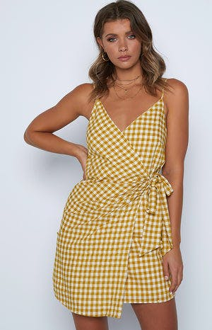 Momo Dress Yellow