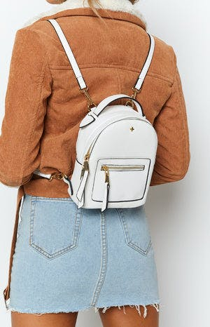 Peta & Jain Zoe Mini Back Pack White