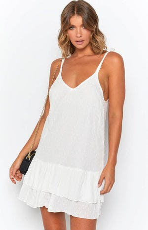 Priscilla Dress White