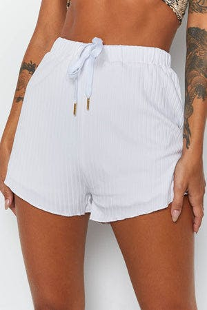 Remedy Shorts White