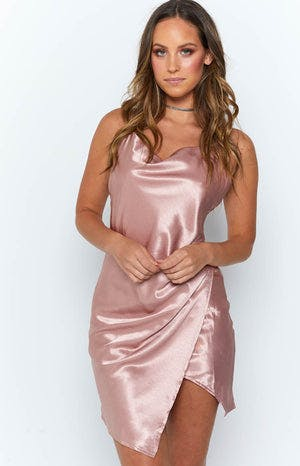 Skip The Day Dress Dusty Rose