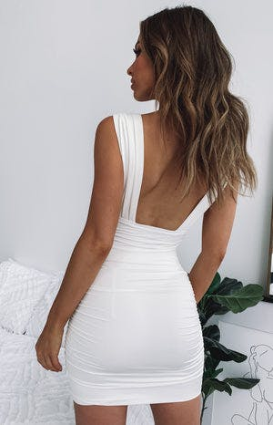Verity Dress White