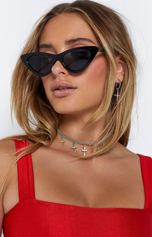 Eclat The Hills Sunglasses Black (FREE Over $150)