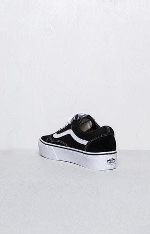 Vans Old Skool Platform Black & White