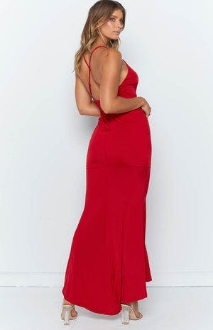Anastasia Maxi Dress Red